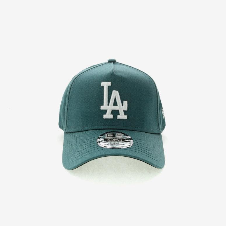 New Era Los Angeles Dodgers 940 A-Frame Black UV Snapback Blue ...