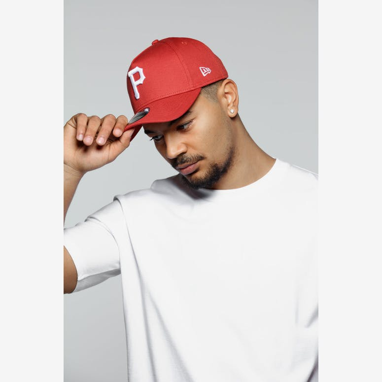 7f4f704d5a4 New Era Pittsburgh Pirates 9FORTY A-Frame Snapback Chilli – Culture Kings