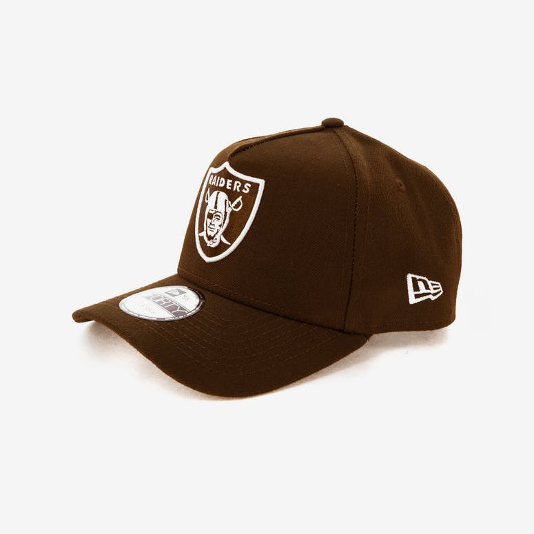 380f78b61e9 New Era Raiders 9FORTY A-Frame Snapback Chocolate – Culture Kings