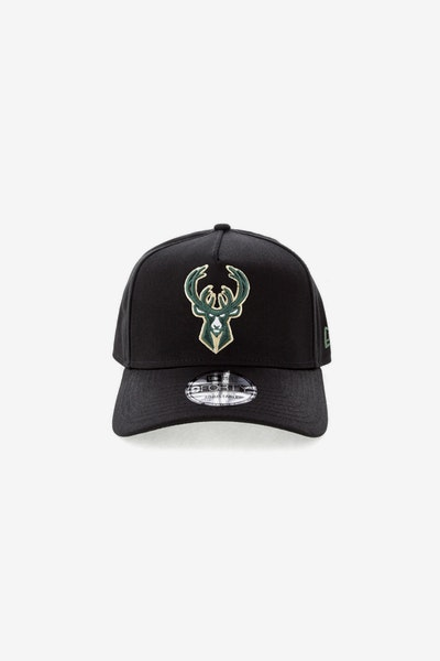 New Era Milwaukee Bucks NBA CK 940 A-Frame Snapback Black