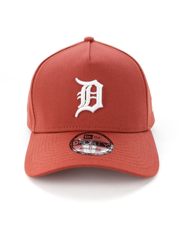 fca7fb3e New Era Detroit Tigers 9FORTY A-Frame Snapback Chilli – Culture Kings
