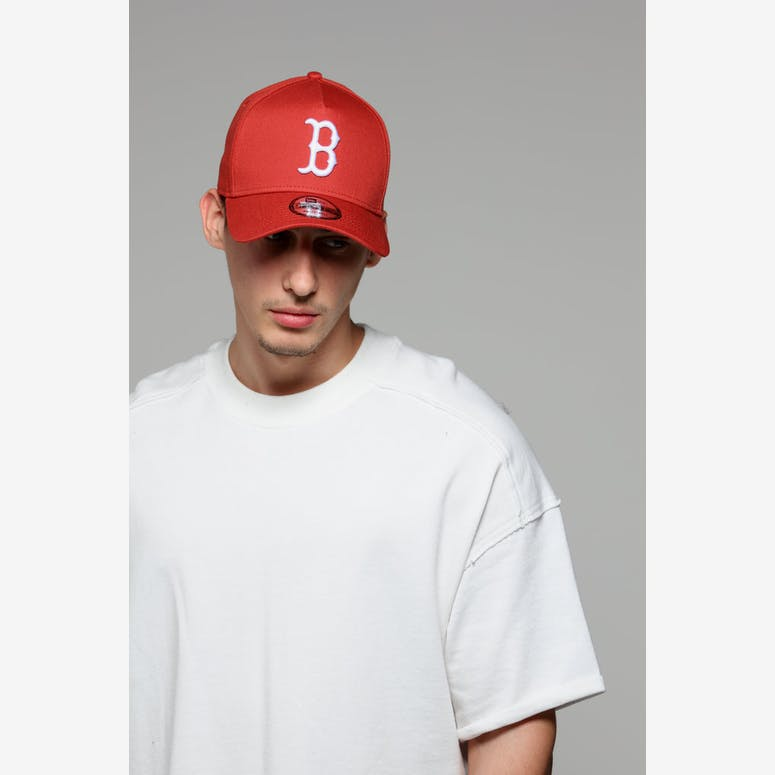 58cc0f0e7d7 New Era Boston Red Sox 9FORTY A-Frame Snapback Chilli – Culture Kings