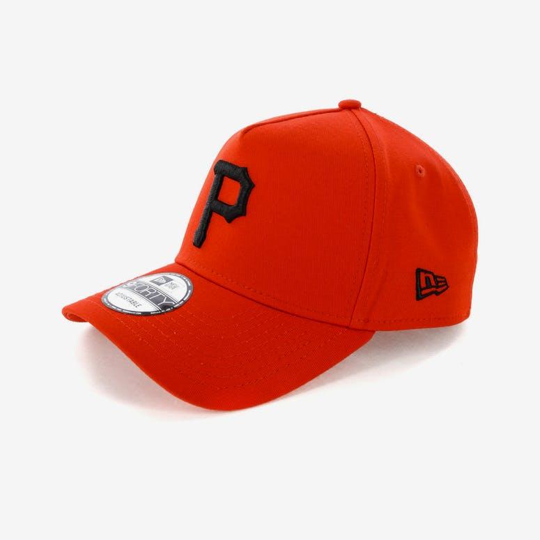 0f936ea4c98 New Era Pittsburgh Pirates 9FORTY A-Frame Snapback Cherry Black ...