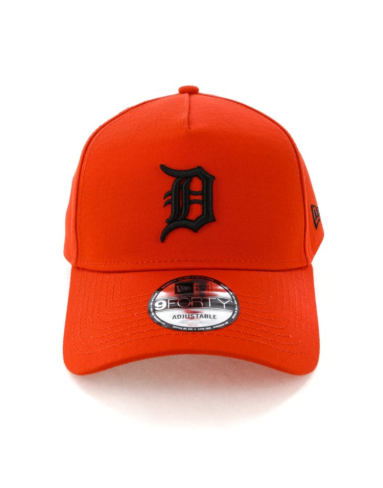 detailed look 6b95c d73dc New Era Detroit Tigers 9FORTY A-Frame Snapback Cherry Black – Culture Kings