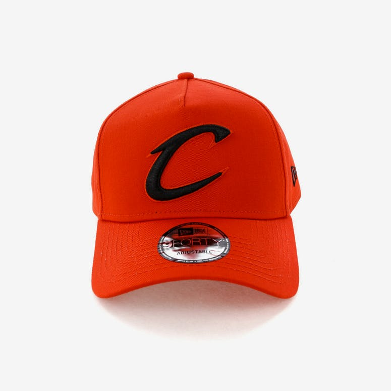 d7fe96fc1fa New Era Cleveland Cavaliers 9FORTY A-Frame Snapback Cherry Black – Culture  Kings