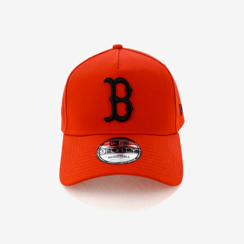 ef8e46ccedb New Era Boston Red Sox 9FORTY A-Frame Snapback Cherry Black – Culture Kings