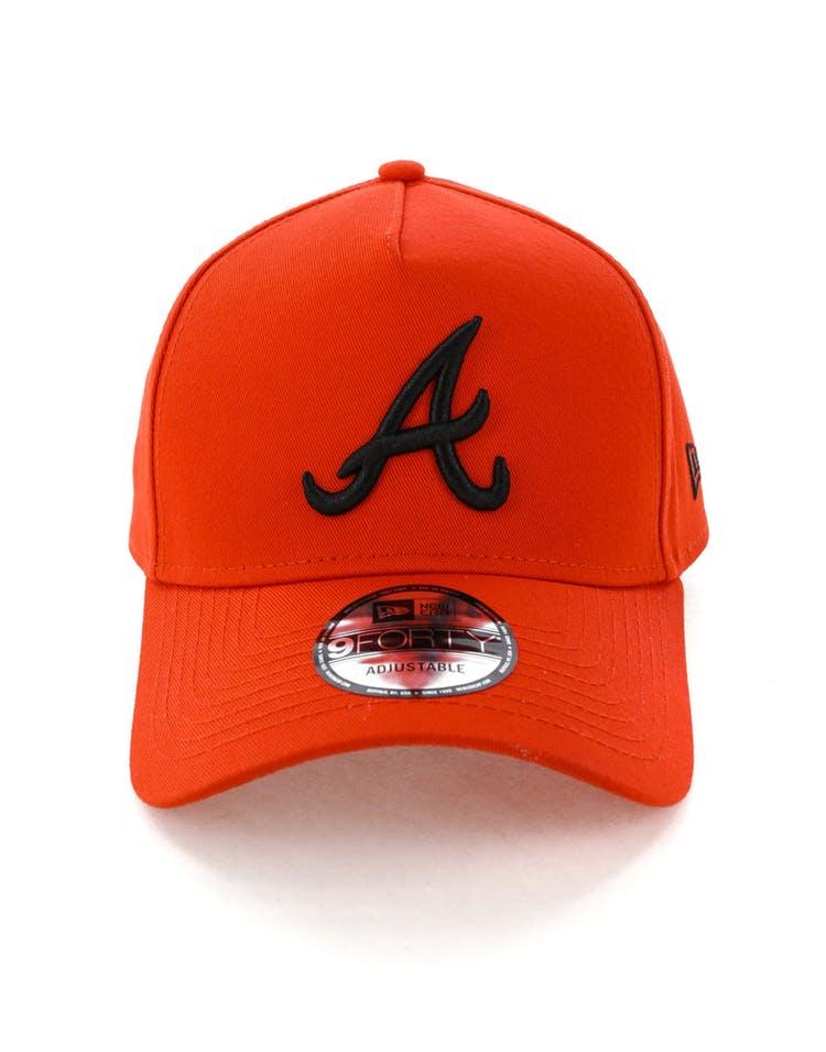 best website 99fb0 65312 New Era Atlanta Braves 9FORTY A-Frame Snapback Cherry Black – Culture Kings
