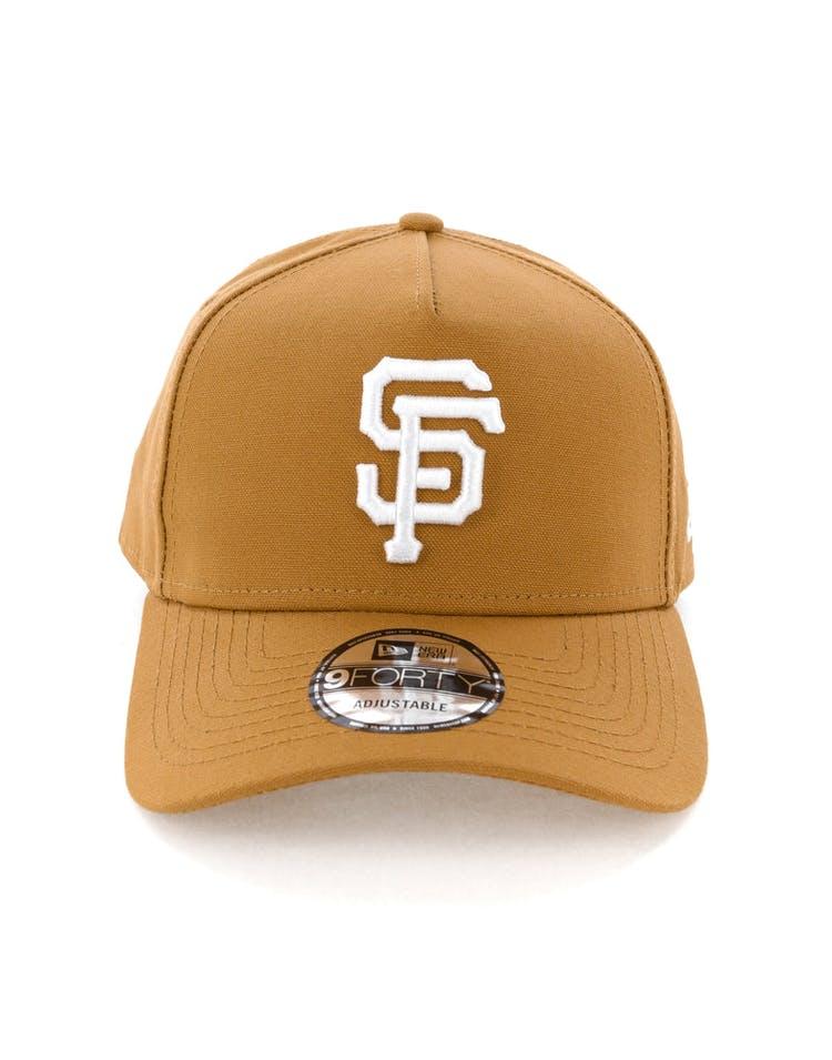 size 40 f48fa 6ab8e New Era San Francisco Giants 9FORTY A-Frame Snapback Chipmunk – Culture  Kings