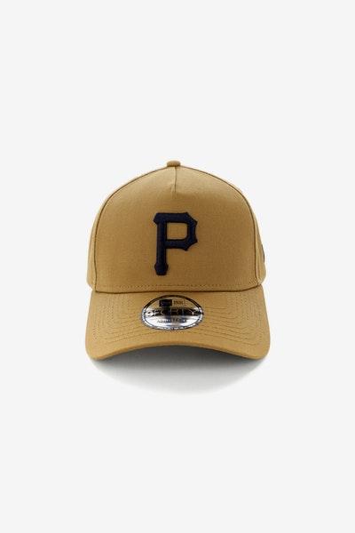 700442fa1b2 New Era Pittsburgh Pirates 9FORTY A-Frame Navy UV Snapback Wheat