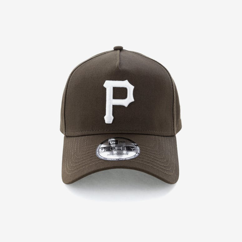 21124d4e64b New Era Pittsburgh Pirates 9FORTY A-Frame Snapback Chestnut – Culture Kings