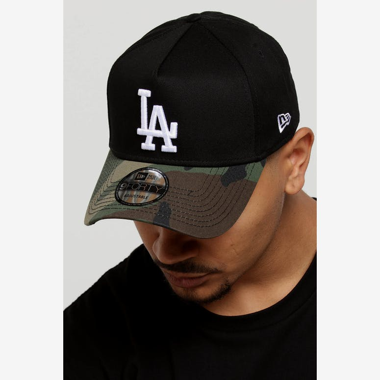 New Era Los Angeles Dodgers 2 Tone 9FORTY A-Frame Snapback Black Camo –  Culture Kings 3023d2cf0075