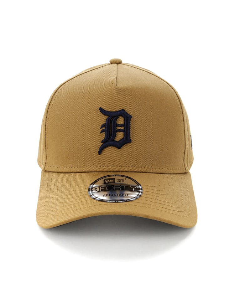 678eaaaa New Era Detroit Tigers 9FORTY A-Frame Navy UV Snapback Wheat – Culture Kings