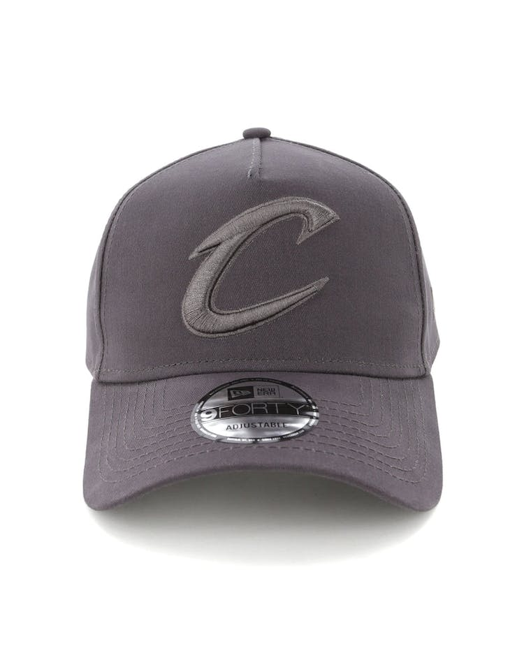 quality design 89be3 717e1 New Era Cleveland Cavaliers 9FORTY A-Frame Snapback Iron Gate – Culture  Kings