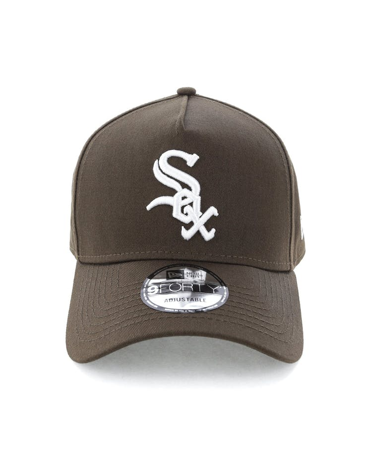 new product 4fa26 9046a New Era Chicago White Sox 9FORTY A-Frame Snapback Chestnut – Culture Kings