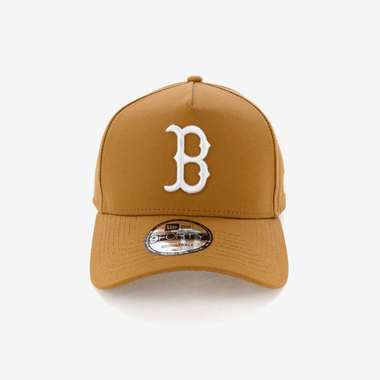 8fd74bf61fd New Era Boston Red Sox 9FORTY A-Frame Snapback Chipmunk – Culture Kings