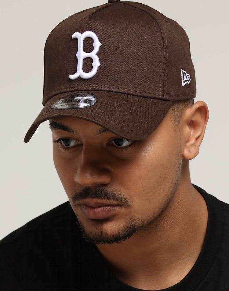 newest collection bc7bd 77c3e New Era Boston Red Sox 9FORTY A-Frame Snapback Chestnut – Culture Kings