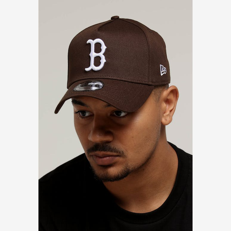 198130b1bb4 New Era Boston Red Sox 9FORTY A-Frame Snapback Chestnut – Culture Kings