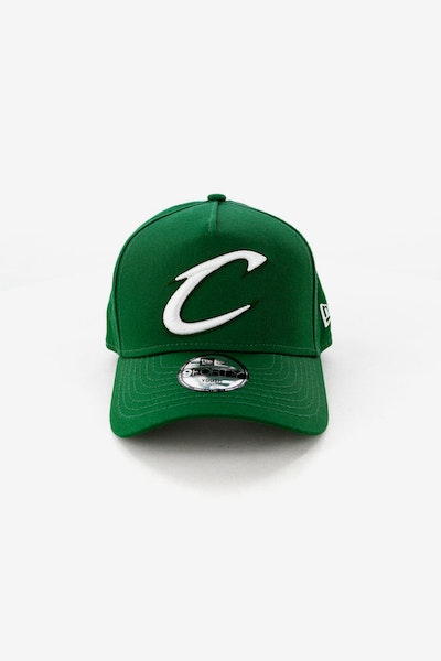 New Era Youth Cleveland Cavaliers 9FORTY A-Frame Snapback Eden Green 415d60612d4c