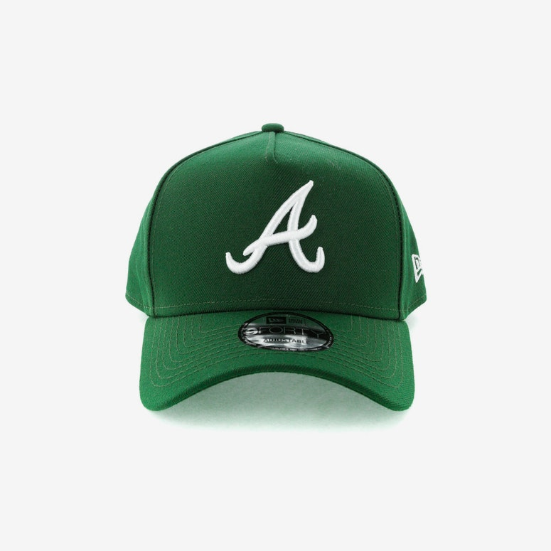 New Era Atlanta Braves CK 940 A-Frame Snapback Eden Green – Culture ...