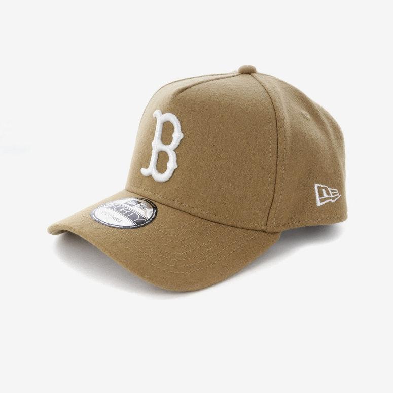 New Era Boston Red Sox 940 A-Frame Melton Snapback Camel – Culture Kings