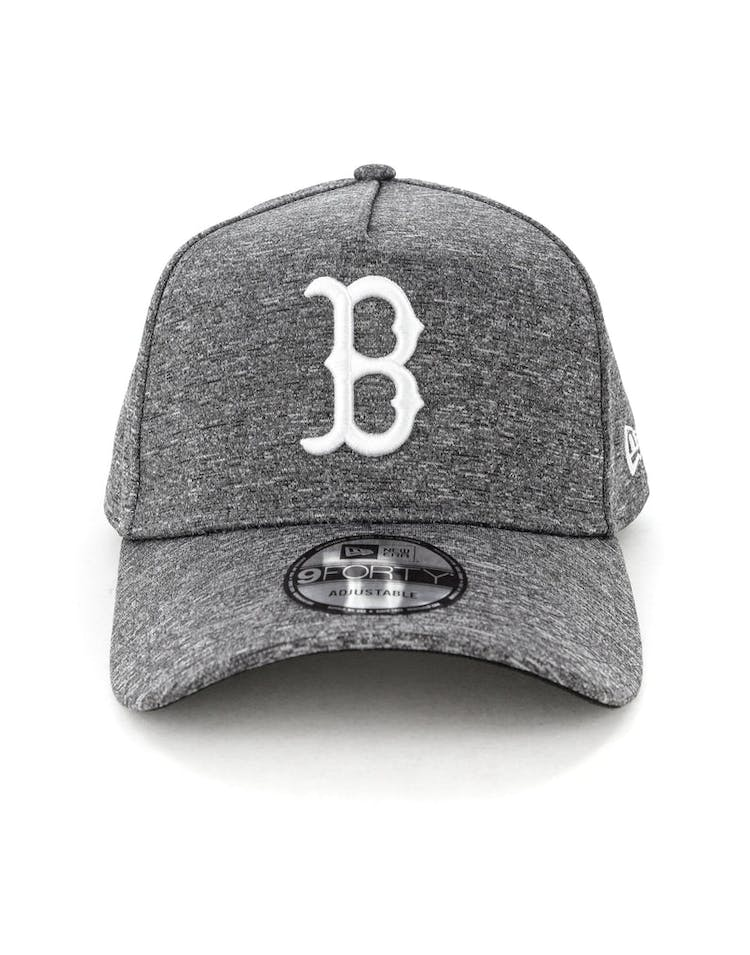 on sale ade1a d9fbc New Era Boston Red Sox 9FORTY A-Frame Melange Snapback Dark Grey White – Culture  Kings