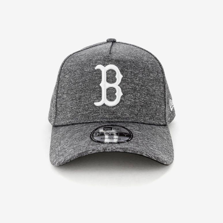 1703693aa17 New Era Boston Red Sox 9FORTY A-Frame Melange Snapback Dark Grey White – Culture  Kings