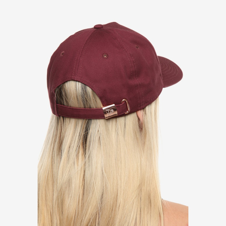 New Era Women's New York Yankees 9FORTY A-Frame Strapback Maroon/Rose Gold