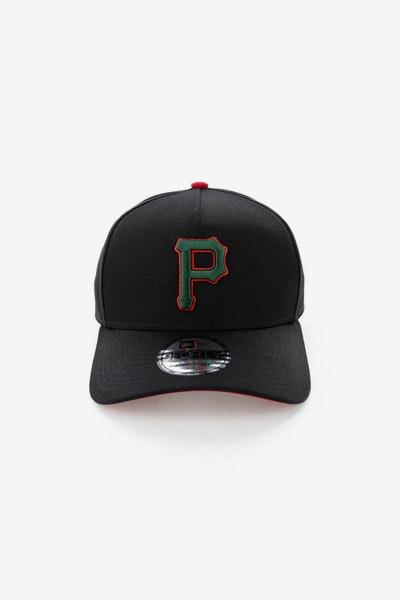 ebbae570f07 New Era Pittsburgh Pirates CK 940 A-Frame Snapback Black Green Red