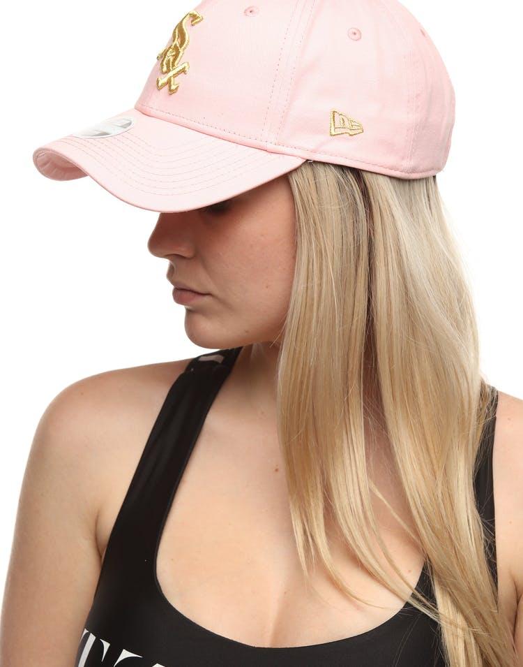 cheapest price united states various styles New Era Women's Chicago White Sox 9FORTY Strapback Blush/Gold ...