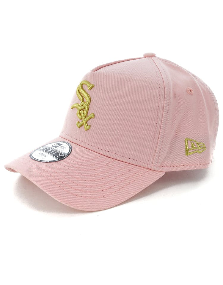 new products buy cheap exclusive deals New Era Youth Chicago White Sox 9FORTY A-Frame Strapback Blush ...
