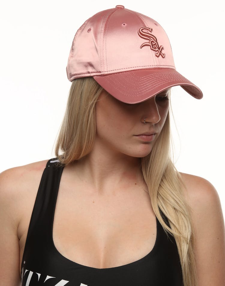 new list quality design new arrival New Era Women's Chicago White Sox 9FORTY Strapback Bloom Satin ...