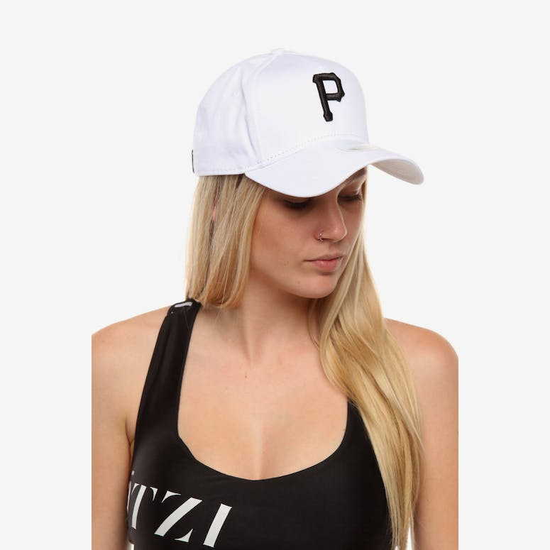 ae6590e8551 New Era Women s Pittsburgh Pirates 9FORTY A-Frame Embroidered Strapbac – Culture  Kings