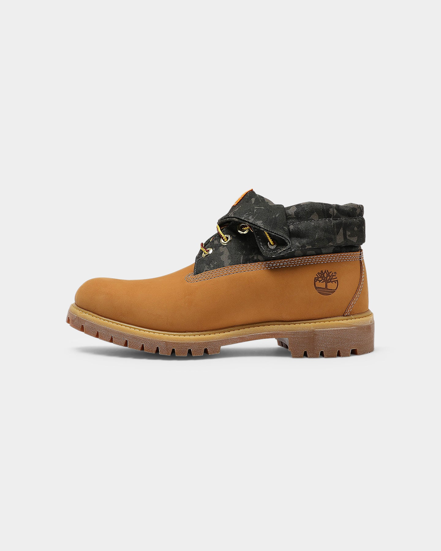 Timberland Women's Roll Top Boots Blue With White Logo