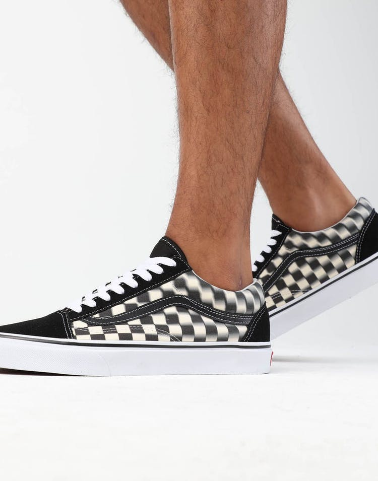 Vans Old Skool (Blur Check) Black/White