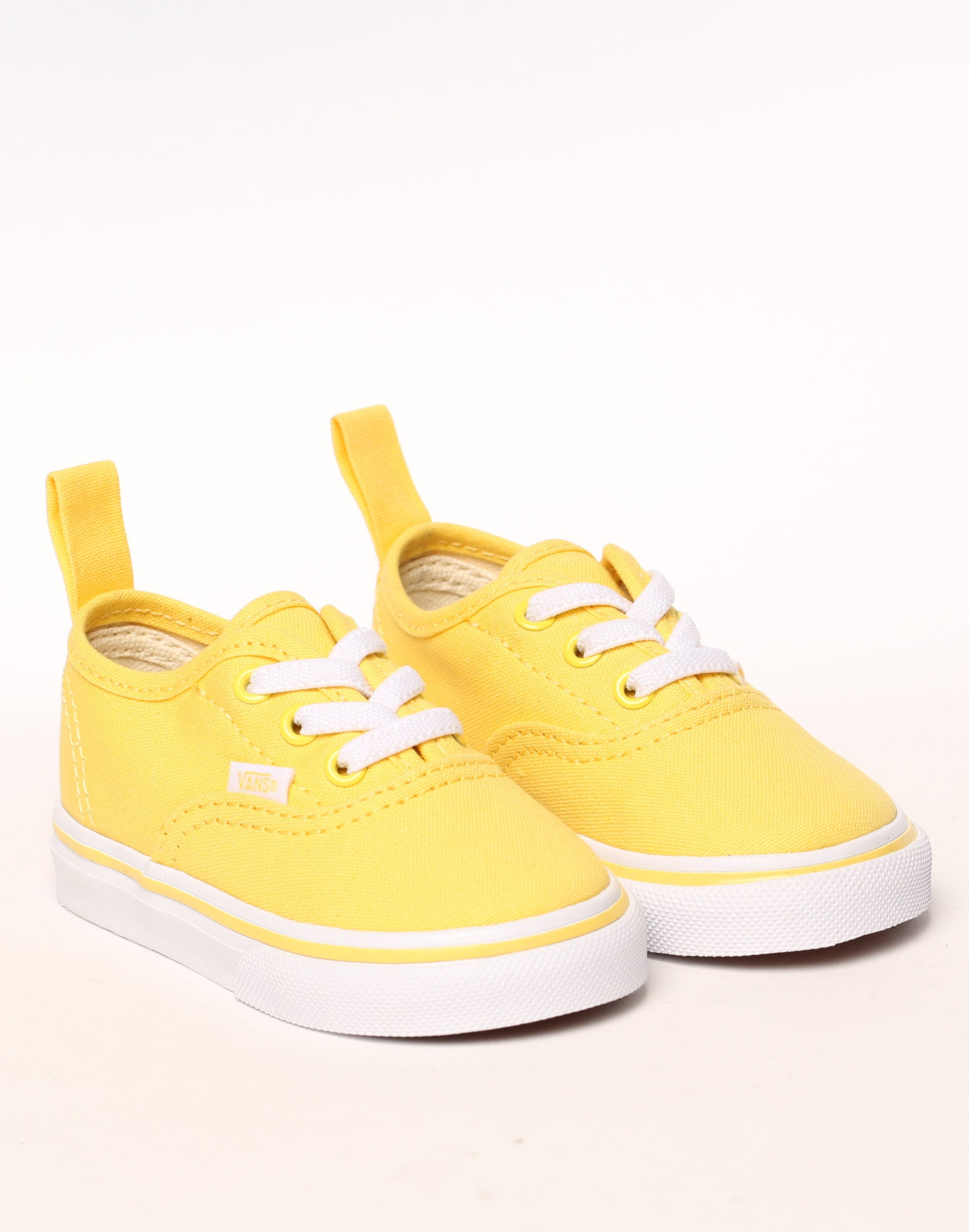 Vans Toddler Authentic (Elastic) YellowWhite