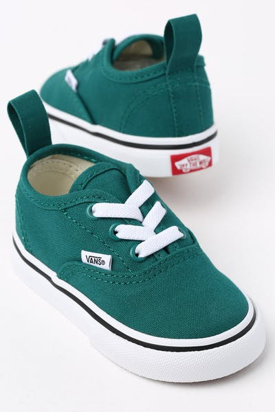 3224e6f137 Vans Toddler Authentic (Elastic) Green White