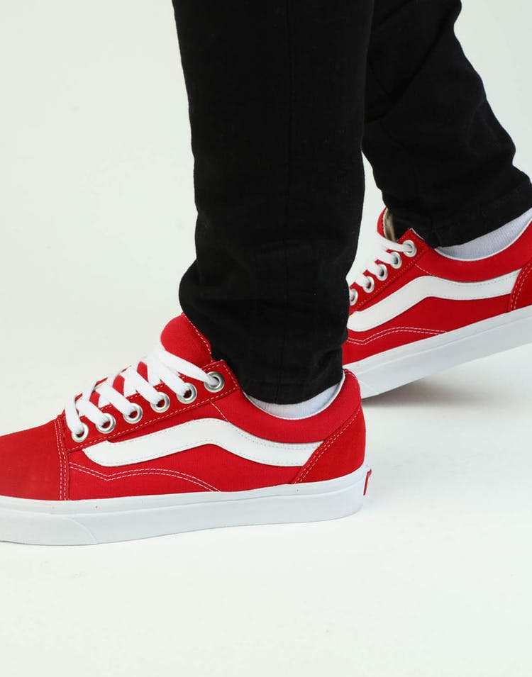 Vans Old Skool OS Red/White