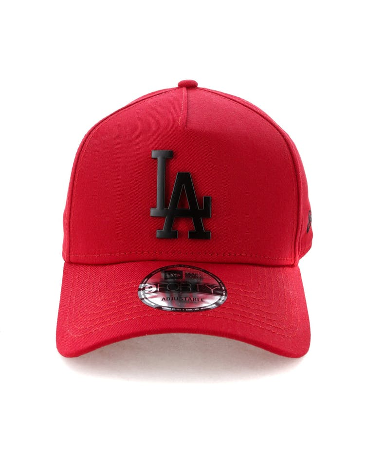 2cf1b32e New Era Los Angeles Dodgers 9FORTY A-Frame Metal Badge Snapback Scarle –  Culture Kings