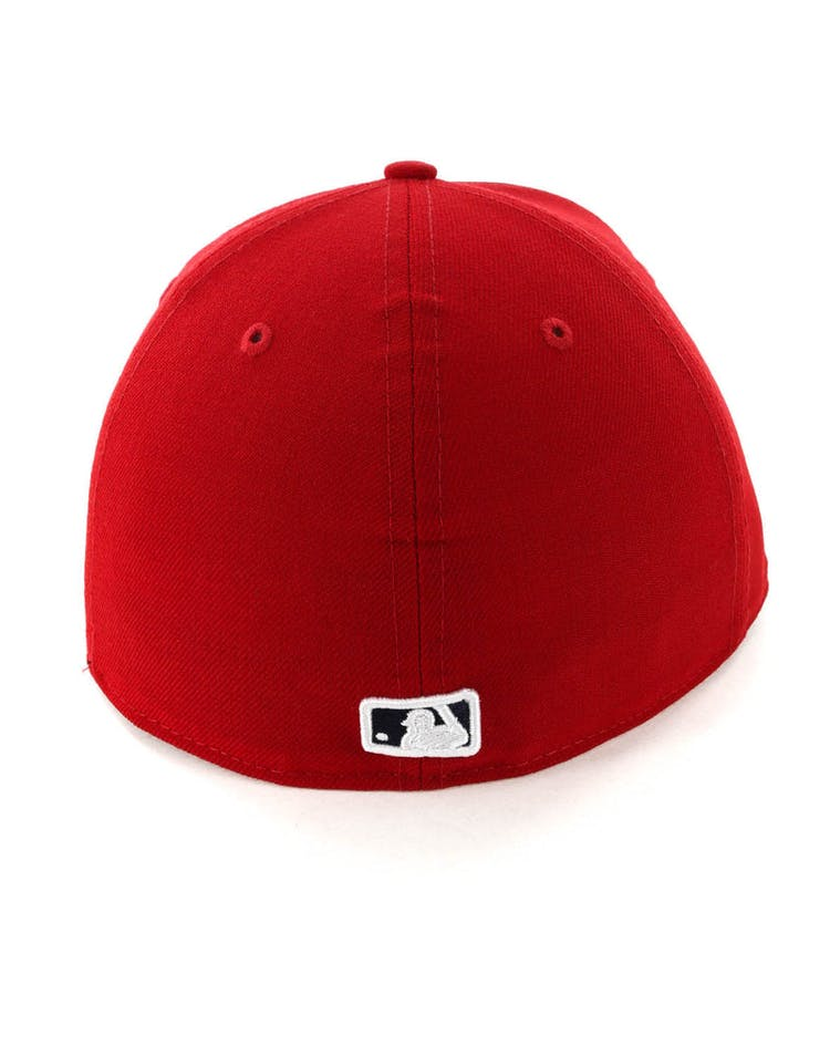 2fba221f New Era Los Angeles Angels 59FIFTY Fitted Scarlet/Navy – Culture Kings