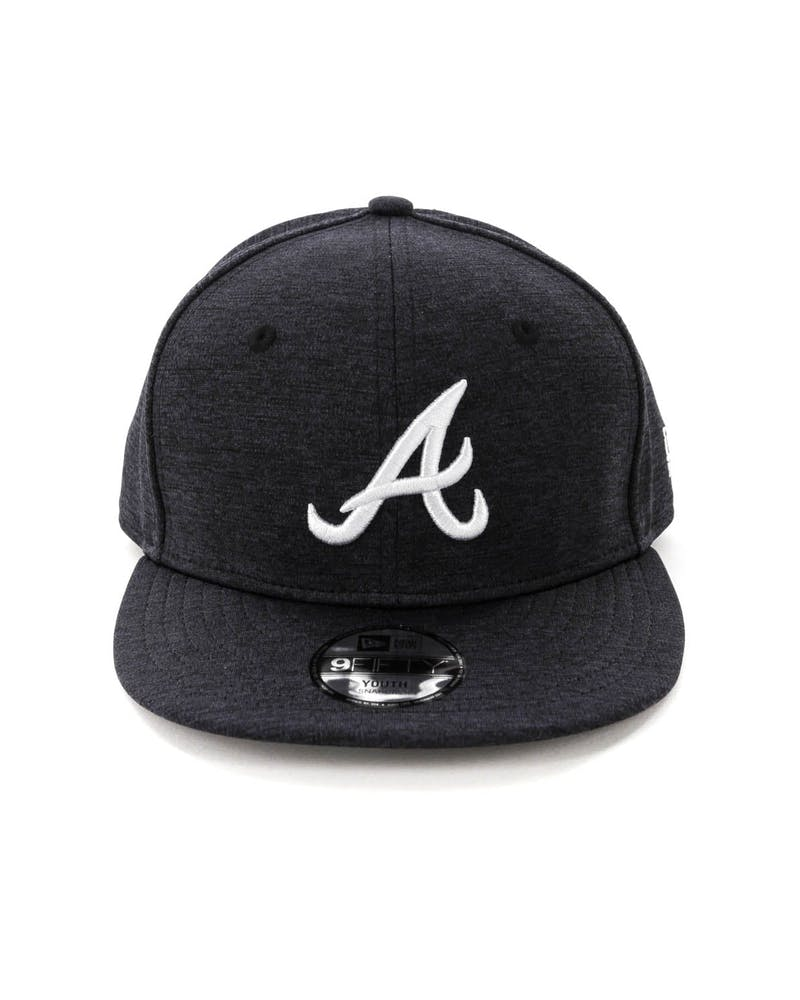 New Era Youth Atlanta Braves 9FIFTY Snapback Shadow Tech Navy