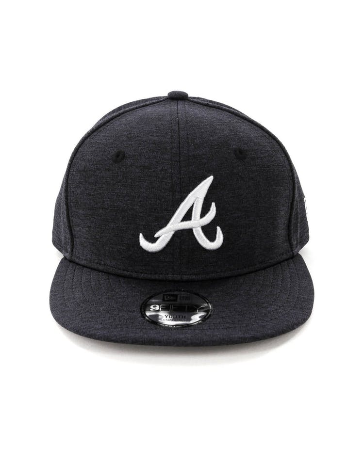 948c40f0 New Era Youth Atlanta Braves 9FIFTY Snapback Shadow Tech Navy – Culture  Kings