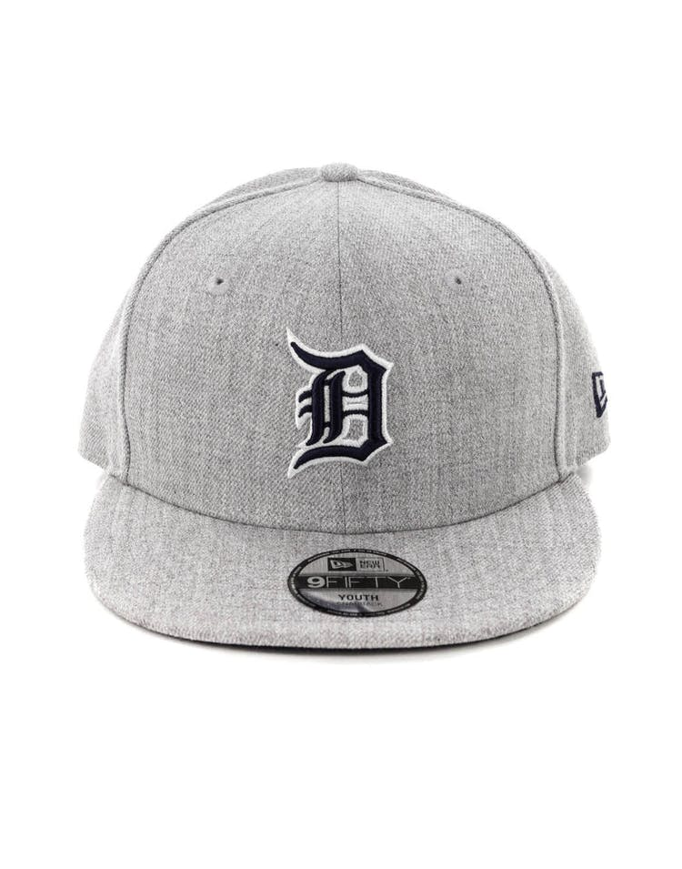 uk availability a40bd 03948 New Era Youth Detroit Tigers 9FIFTY Snapback Heather Grey – Culture Kings