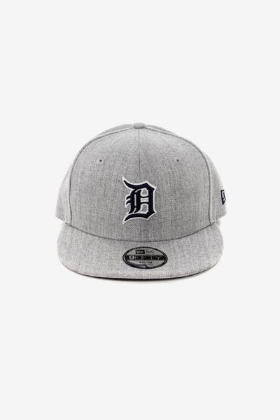 New Era Youth Detroit Tigers 9FIFTY Snapback Heather Grey 1275c8fb7