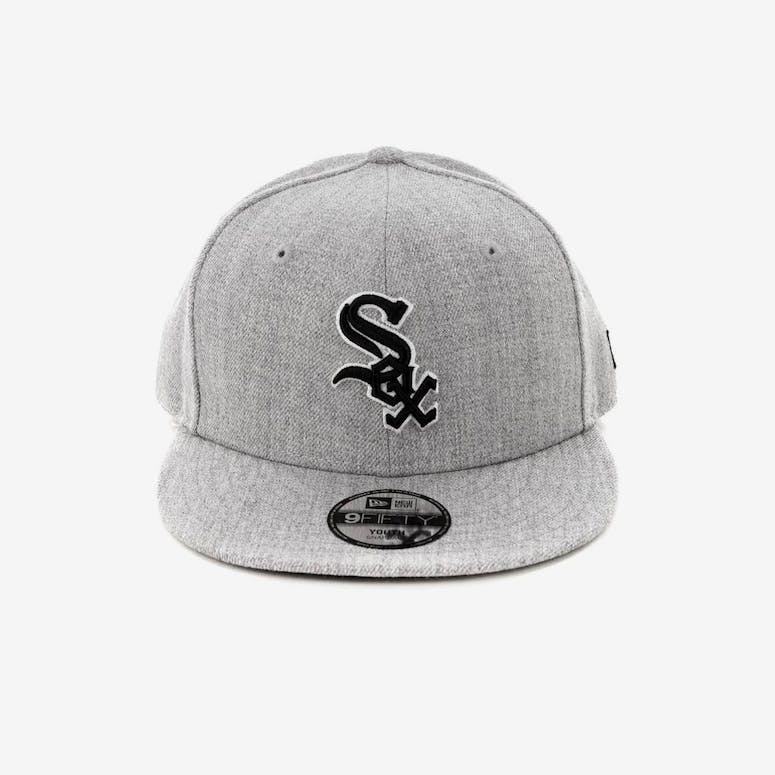 New Era Youth Chicago White Sox 9FIFTY Snapback Heather Grey – Culture Kings d5923d0bc
