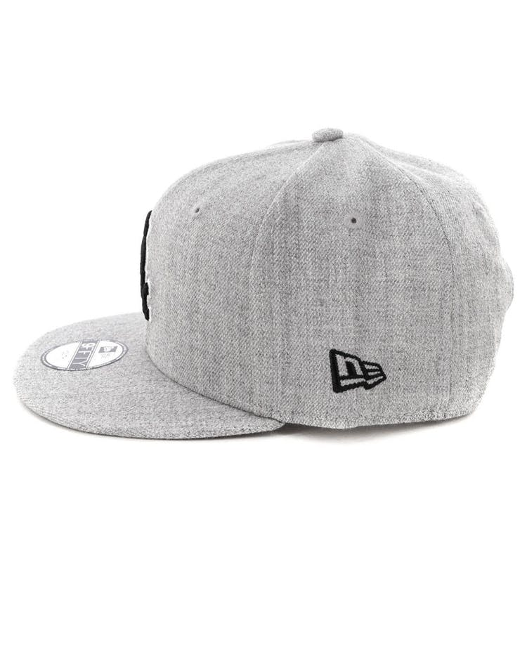 info for a0185 b2e3f New Era Youth Chicago White Sox 9FIFTY Snapback Heather Grey