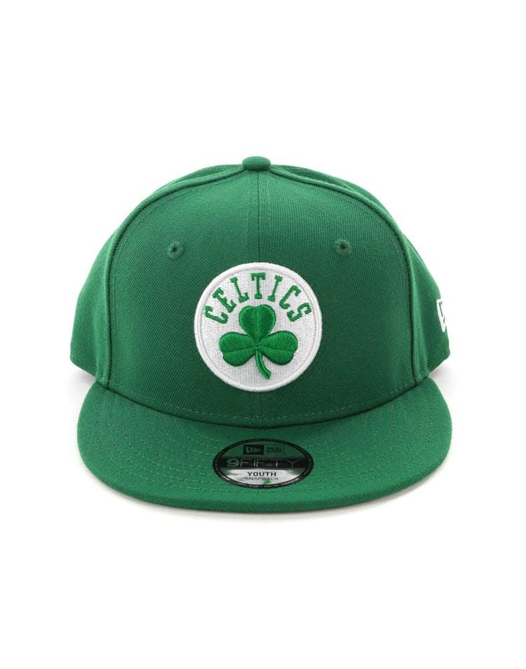 509cfd8ab37cb0 New Era Youth Boston Celtics 9FIFTY Snapback Kelly Green – Culture Kings