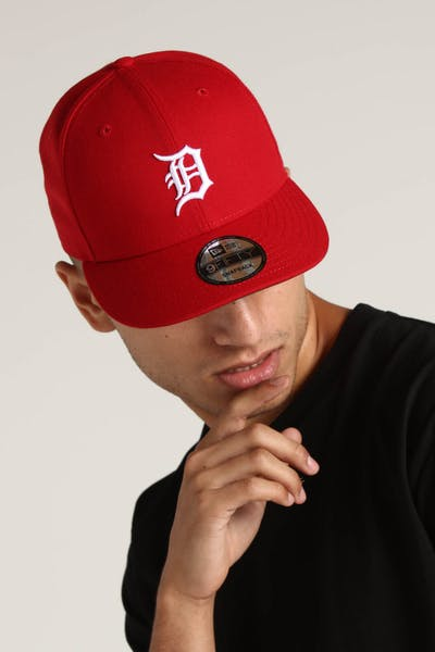 innovative design 148a9 3e694 New Era Detroit Tigers 9FIFTY Snapback Scarlet