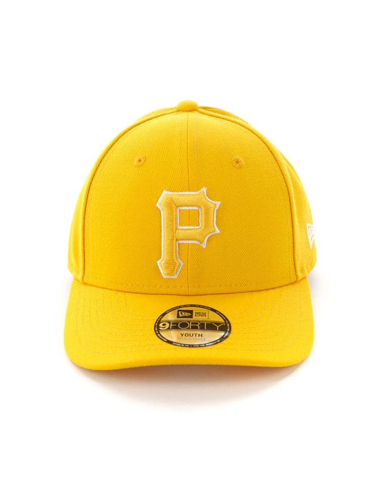innovative design b82a6 05907 New Era Youth Pittsburgh Pirates 9FORTY HookLP Gold – Culture Kings