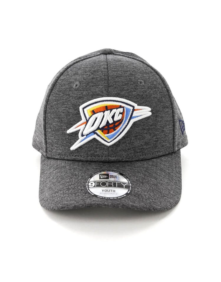 6c91678c4 New Era Youth Oklahoma City Thunder 9FORTY HookLP Shadow Tech Grey