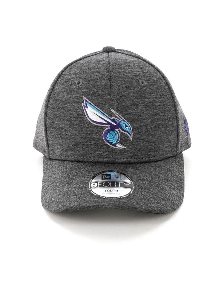 on sale 322c1 24509 New Era Youth Charlotte Hornets 9FORTY HookLP Shadow Tech Grey – Culture  Kings